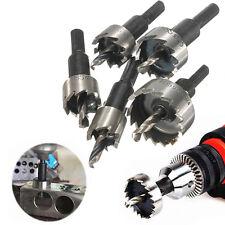 5Pcs16-30mm Carbide Tip HSS Drill Bit Saw Set Metal Wood Drilling Hole Cut Tool