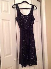 Merona Target Black And White Polka Dot Dress 16