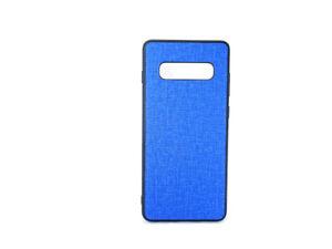 Samsung Galaxy S10 Plus Fabric cloth Hard Back Case