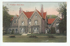 Walshaw Hall Bury Lancashire 23 Dec 1906 Dryden White Lodge Liphook Hampshire
