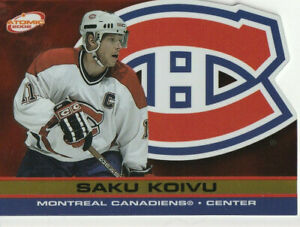 SAKU KOIVU 2001-02 ATOMIC *GOLD* #51 (19/200) RARE