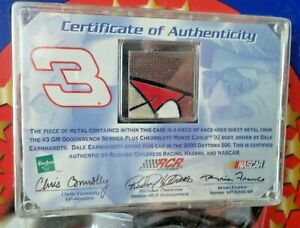 DALE EARNHARDT NASCAR #3 (1:64) Winner's Circle TEAM AUTHENTICS RARE Metal Piece