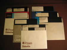 """7 Disks of Miscellaneous Original CP/M Software on 8"""" Disk"""