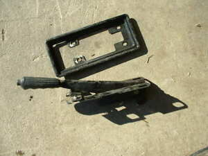 Fiat X1/9 parking brake assembly, all working.