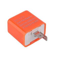 Motorrad Flasher RELAY Für LED-Anzeigen Widerstand 2 PIN 12V Fix Flash Rate NEU