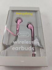 Heyday Wireless Bluetooth Earbuds - Pink New Damaged Box
