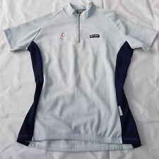 Nalini Women's Top Short Sleeve Jersey 100% Poliester Tilady Stretch Grey Size L