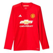 Maglie da calcio di squadre inglesi rossa del Manchester United taglia S