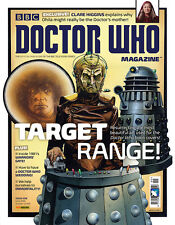 Doctor Who Magazine #499 Book Cover Paintings New companion? Ohila 2016