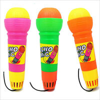 Echo Microphone Mic Voice Changer Toy Baby Kids Birthday Present IH