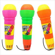Echo Microphone Mic Voice Changer Toy Baby Kids Birthday Present Pop FT