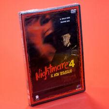 NIGHTMARE 4 IL NON RISVEGLIO DVD Renny Harlin Robert Englund
