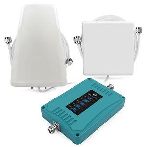 2G 3G 4G 800/900/1800/2100/2600MHz 70dB Handy Signal Verstärker Booster Kit