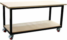 Mobile steel work bench 1800 x 800mm, direct from our Melbourne factory