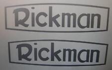 Rickman Adhesivo Par Tanque Panel Vinilo De Corte