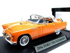 MotorMax 1956 FORD THUNDERBIRD ORANGE 1/18 Diecast
