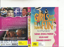 Girls Just Want To Have Fun-1985-Sarah Jessica Parker-Movie-DVD