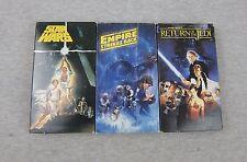 Vintage Original Trilogy STAR WARS Empire Strikes Back Return Jedi VHS 1990