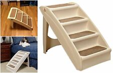 Pets Stairs For Small Dogs Cats Tall Bed High Solvit Pup 4 Step Ramp Central