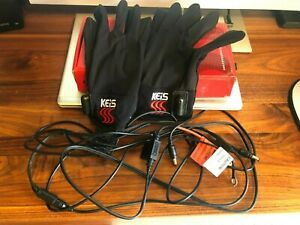 KEIS G102 Motorcycle Heated Inner Gloves , Size L