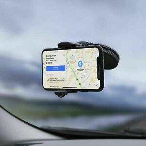 Universal In Car Holder Mount Cradle Bracket fits Mobile Phone GPS Sat Nav