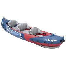 Sevylor 3 Person Tahiti 2 Plus 1 Inflatable Kayak Backpack System