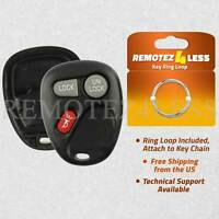 Replacement for Chevy GMC Keyless Entry Remote Car Key Fob Shell Pad Case 3b