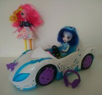My Little Pony Equestria Girls doll Bundle DJ Pon-3 Car Pinkie Pie Rainbow Rocks