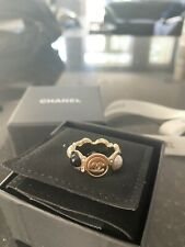 Authentic Chanel ring 54 Fashion jewlery