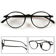 Fashion Men Women Round Reading Glasses Clear Lens Eyewear Eyeglasses 1.0 to 4.0