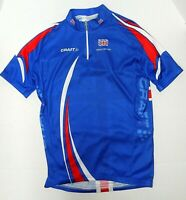 Great Britain UK British Flag Cycling Bike Craft Jersey Royal Blue Womens Medium