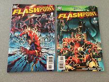 Flashpoint 1 2 3 4 5 NM 1st Thomas Wayne Batman Movie Red Hot 🔥