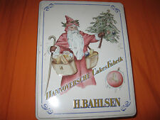 H. Bahlsen Weihnachtsmotiv Hannoversche Cakes Fabrik Blechdose