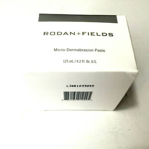 Rodan and Fields Microdermabrasion Paste 4.2 oz NEW Formula Enhancements Sealed