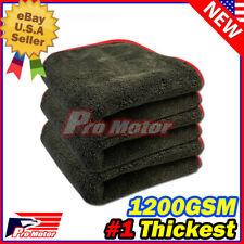 1200GSM Thick Plush Microfiber Towel Cleaning No-Scratch Rag Polishing Detailing