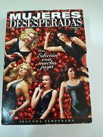 Mujeres Desesperadas Temporada Dos 2 Completa - 7 x DVD Español English - AM