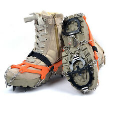 Traction Cleats Teeth Universal Crampon Anti Slip Ice Snow Shoe Boot Grips Spike