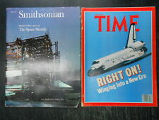 The Space Shuttle Smithsonian May 1977 Time Magazine April 27, 1981 Right On!