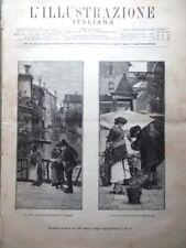 L'Illustrazione Italiana 5 Settembre 1886 Viterbo Esposizione di Brera Bulgaria
