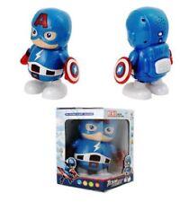 Luz-Up-Bailando-Toy - Captain-America-Avenger-Leader - musical-Led-animales-Toys
