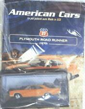 PLYMOUTH ROAD RUNNER 1970 AMERICAN CARS 27 1:43 DEAGOSTINI