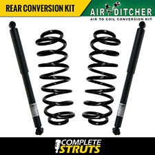 2004-2005 GMC Envoy XUV Rear Air to Coil Spring Conversion Kit with Shocks