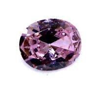 5.50 Ct Oval Cut Natural Cambodia Neon Pink Zircon Ggl Certificate Gemstone
