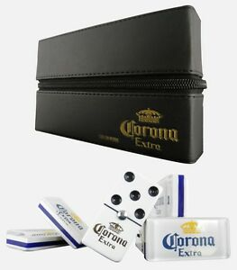 Corona Extra Beer Domino Game Set Double Six Dominoes Man Cave Bar Cerveza