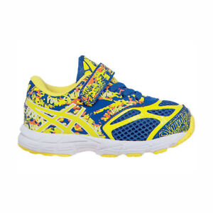 Asics Toddlers' Noosa Tri 10 TS (TD) NEW AUTHENTIC Blue/Yellow C524N-4207