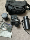 Konika+FT-1+motor+bundle+with+flash+and+extra+lenses+