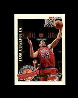 Tom Gugliotta Card 1992-93 Hoops Magic's All-Rookies #5 Washington Bullets