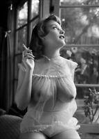 """PHOTOGRAPHIE,  """"Margaret"""",  London, 1953          /     13 x 18 cm"""