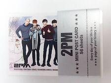 2PM Photo Mini Post Card 56 Sheets KPOP Jun K Nichkhun TAECYEON JunHo WooYoung C