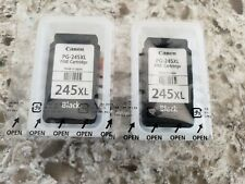 2 Canon Pixma PG-245XL Black High Yield Ink Cartridges Genuine NEW Sealed